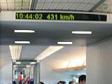 速度計431Km/h!